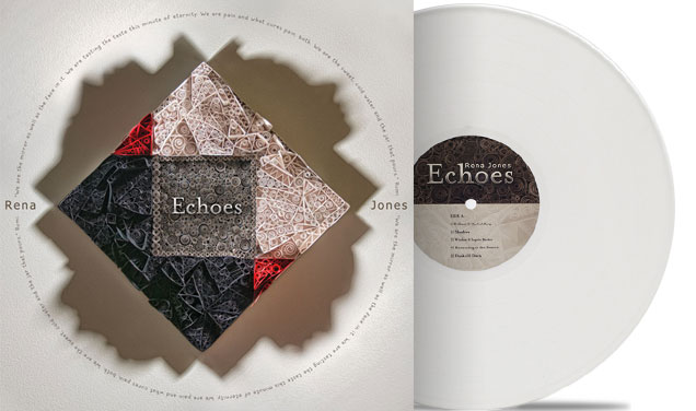 Rena Jones – Echoes Album Packaging – Cartesian Binary
