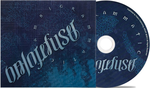 Ambigrammatic: CD Packaging – Halo Refuser
