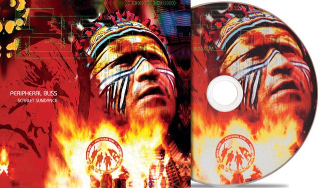 Scarlet Sundance: CD Packaging – Peripheral Bliss