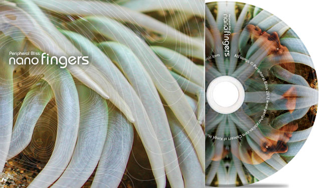Peripheral Bliss: Nano Fingers – CD Packaging