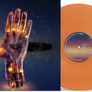 d30n LLC, Portland Oregon, Ben Milstein - Sleeping Robot, Album Cover Design, Design