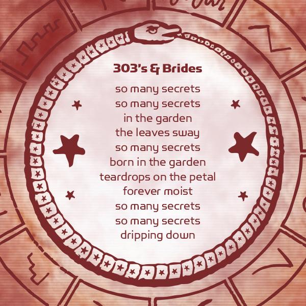 303's&Brides-Lyrics