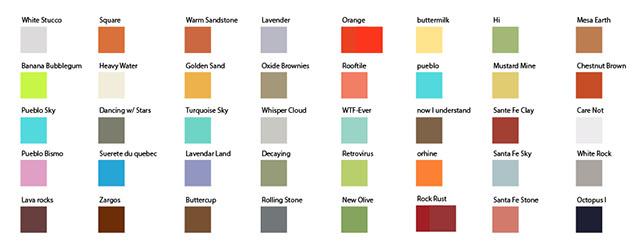 ColorSwatches