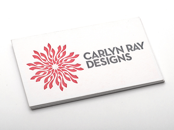 Carlyn ray designs business cards d30n design for Carlyn ray designs