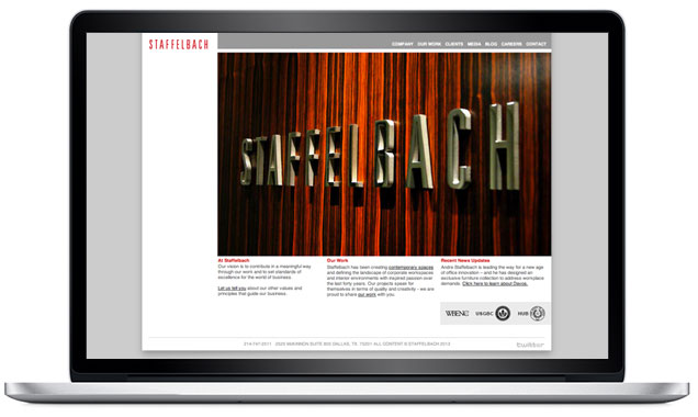 STAFFELBACH – Website