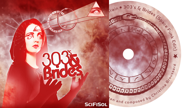 SciFiSol – 303's & Brides EP CD Package