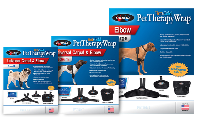 Caldera Pet Therapy – Package Design