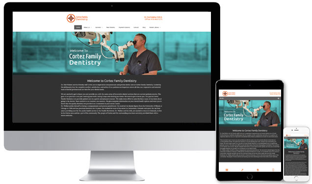 Cortez Family Dentistry Website