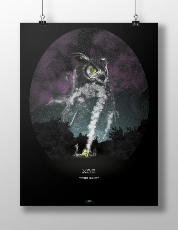 d30n LLC, Hootenanny Poster, Poster
