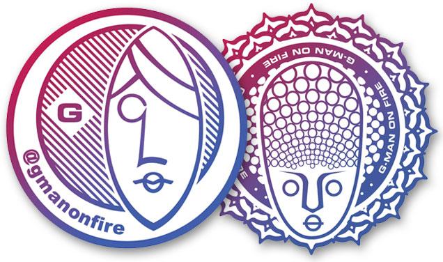 G-Man on Fire – Logo