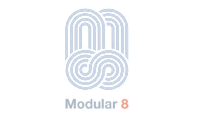 Modular 8 Animated Logo