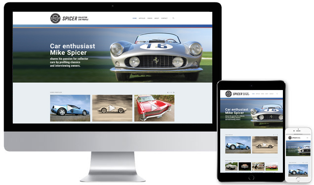 Spicer Collector Car Profile – Website