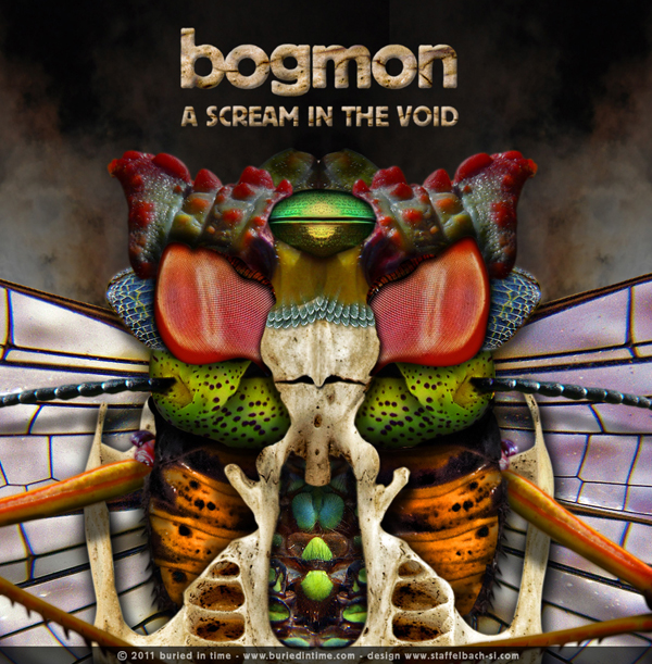 Portland Oregon, Album Art, CD Art, Graphics, d30n, Bogmon, A Scream In The Void