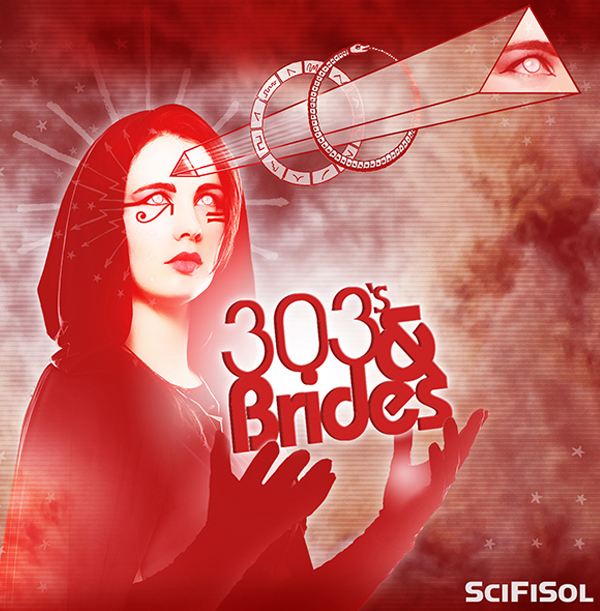 Portland Oregon, Album Art, CD Art, Graphics, d30n, 303's & Brides, SciFiSol, Fantasmagoria