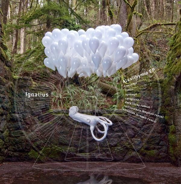 Portland Oregon, Album Art, CD Art, Graphics, d30n, Buried In Time, Alexithymia EP