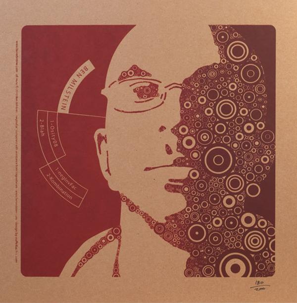 Portland Oregon, Album Art, CD Art, Graphics, d30n, Ben Milstein